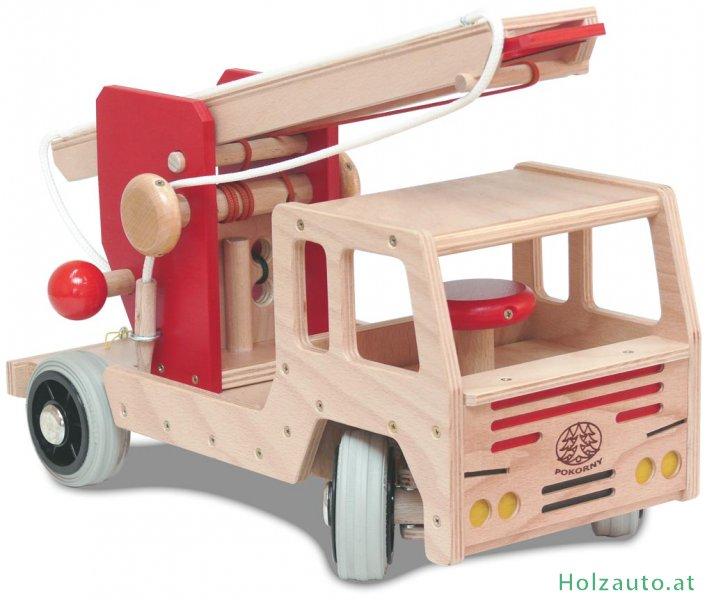 feuerwehrauto holzspielzeug spielzeug aus holz kaufen. Black Bedroom Furniture Sets. Home Design Ideas